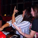 girls pressing buttons at hive nightclub in Zurich, Zurich, Switzerland
