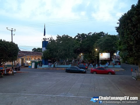 Parque central de Chalatenango