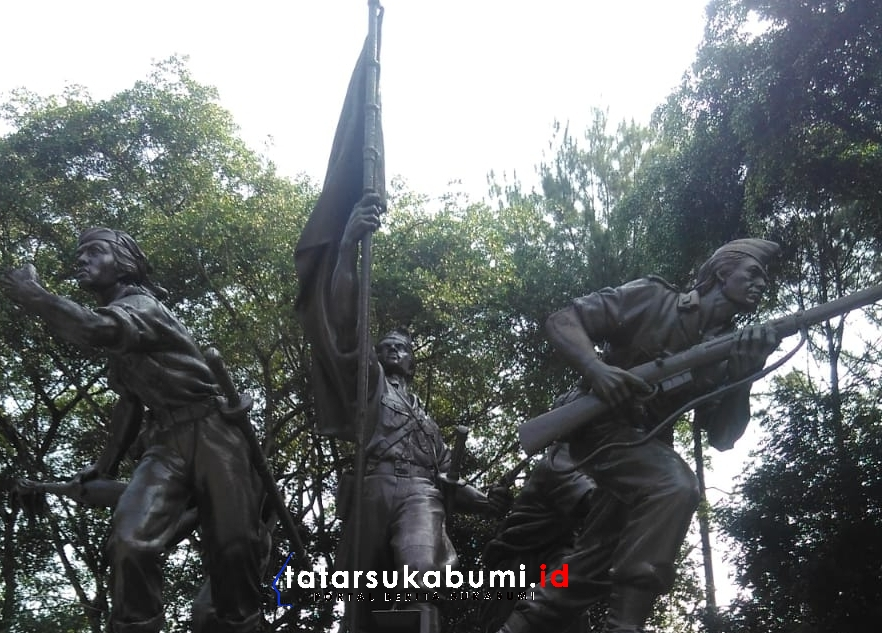 Warga Sukabumi Kurang Peduli Sejarah Monumen Palagan Bojongkokosan Sepi Pengunjung