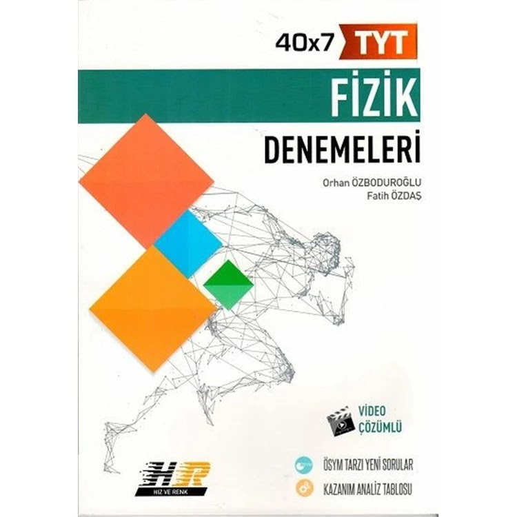 Hız Yayınları - TYT Fizik - 40'lı Deneme