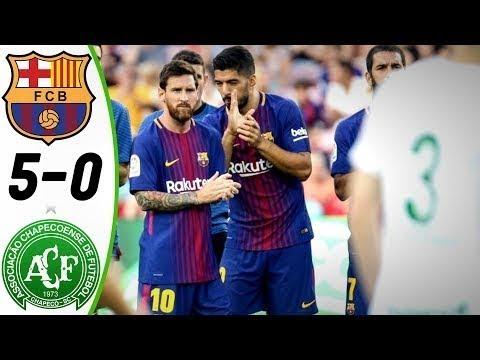 [Video] Barcelona vs Chapecoense 5-0 – Highlight & Goals