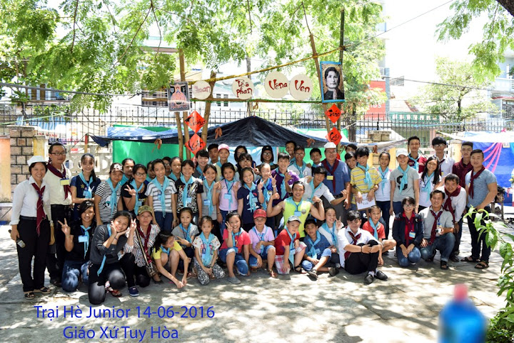 Bế Mạc Trại Hè Junior 2016 tại Tuy Hòa