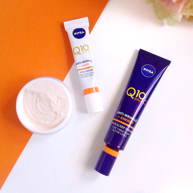 Nivea Q10 Plus C Anti-Wrinkle + Energy Range