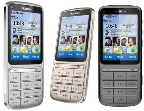 Nokia C3 01 Is A Stylish Handset That Really Grabs The Attention Of All Just Because Its Stunning Touch And Type Features Undoubtedly This