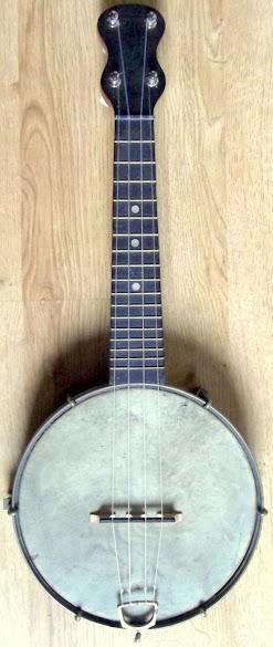 Fitzroy british Banjolele Banjo Ukulele