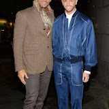 WWW.ENTSIMAGES.COM -   Daniel Porter Brown and Brian Friedman    at  Macmillan Wonderland - launch party at Bodos Schloss London November 12th 2014Cancer charity's party to launch nationwide event taking place on December 5, which encourages people to throw après ski themed fundraising parties.                                                 Photo Mobis Photos/OIC 0203 174 1069