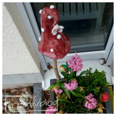 kleiner-kreativblog: Pilz-Hut mit Anhänger