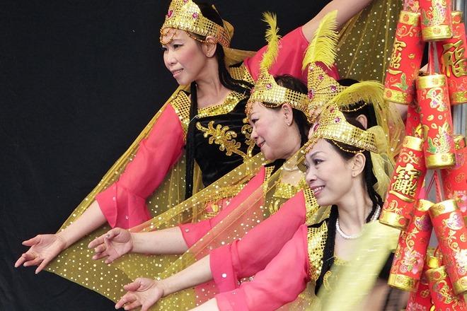 Китайский Новый Год. Монгольский танец.