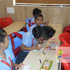 Dove Making Activity of Grade 1 at Witty World, Chikoowadi (2017-18)