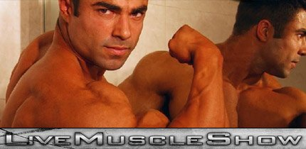 Live Muscle Show - Hot Male Bodybuilders