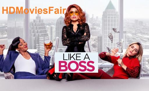 Like a Boss 2020 banner HDMoviesFair