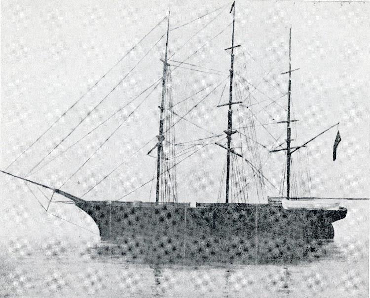 La fragata HERMOSA DE TRASMIERA. Del libro Capitanes de Cantabria.JPG