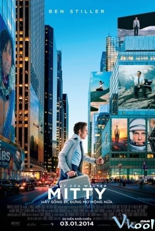 Bí Mật Của Walter Mitty - The Secret Life Of Walter Mitty (2013) | HDVietsub