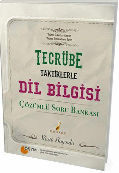 Pelikan Yayınları Dil Bilgisi Tamamı Çözümlü Soru Bankası