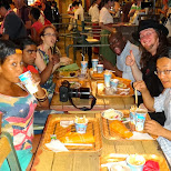 dinner time at Tokyo DisneySea in Urayasu, Tiba (Chiba) , Japan