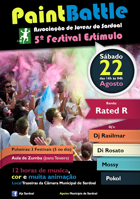 Cartaz do V Festival Estímulo