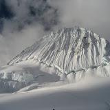 Fotos da ascensión ó Alpamayo, pola vía Ferrari, na Cordillera Blanca dos Andes do Perú.