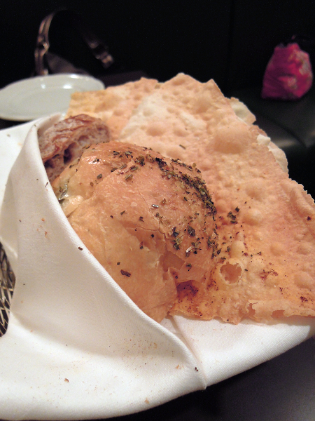 前菜麵包,TOSCANA ,西華飯店