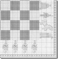 tablero ajedrez punto de cruz (4)