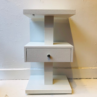 Contemporary Tiered End Table