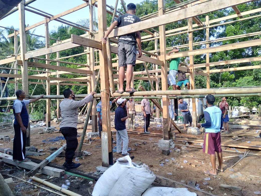 Lebih Dekat Dengan Warga Binaan, Ini Yang di Lakukan Bhabinkamtibmas Marioriwawo