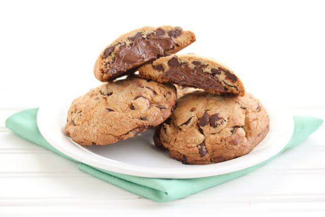 cookies on a plate.