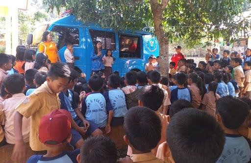 Dalam Sehari, BNNK Tana Toraja Sambangi Dua Tempat Gaungkan Anti Narkoba