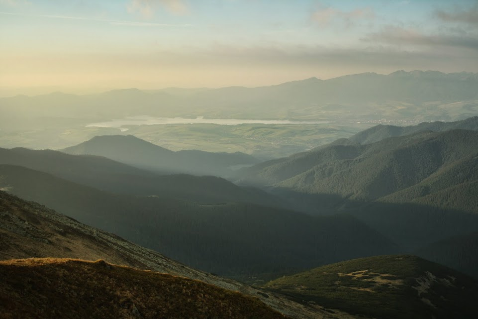 Chabenec widok na Tatry