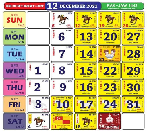Kalendar 12