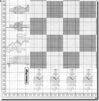 tablero ajedrez punto de cruz (3)