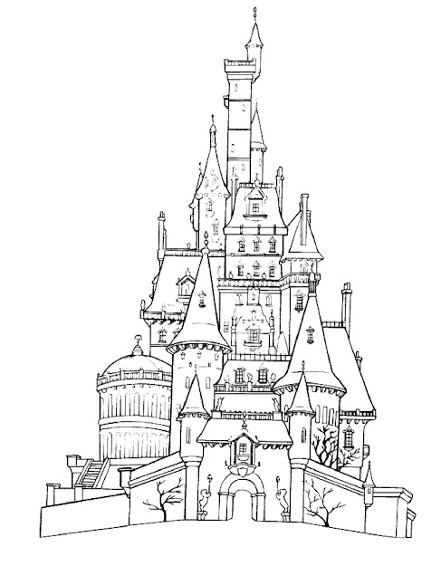 Castle Frozen Coloring Pages Disney Frozen Coloring Pages Disney In Castle Coloring  Pages