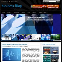 BusinessBlog Wordpress Theme