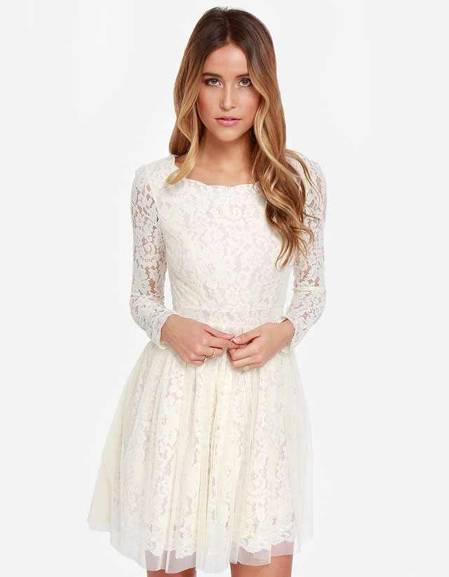 Trendy White Lace Dresses 2016 For Summer Style You 7