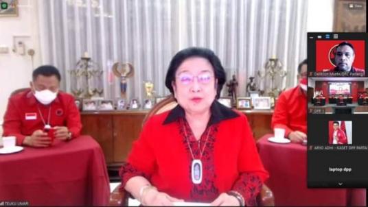 Tanpa Tedeng Aling-Aling, Megawati: Gak Solid ke PDIP? Mundur Aja Bos!