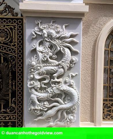 Hình 10: Dãy biệt thự xa xỉ của 3 anh em ruột đại gia Thái Bình