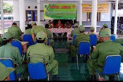 """Sekitar 20 Anggota Linmas Kelurahan Kejayan Mendapat Bimbingan Teknis """"BIMTEK"""" Tentang Tugas dan Pokok"""