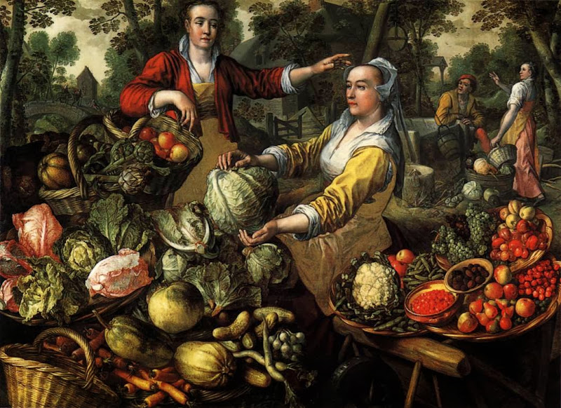 Joachim Beuckelaer - Four Elements.Earth