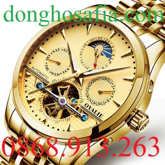 Đồng hồ nam cơ Oyalie 9767 OL001
