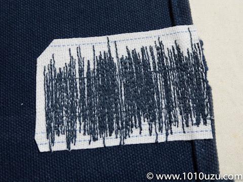 あて布の大きな部分は切る