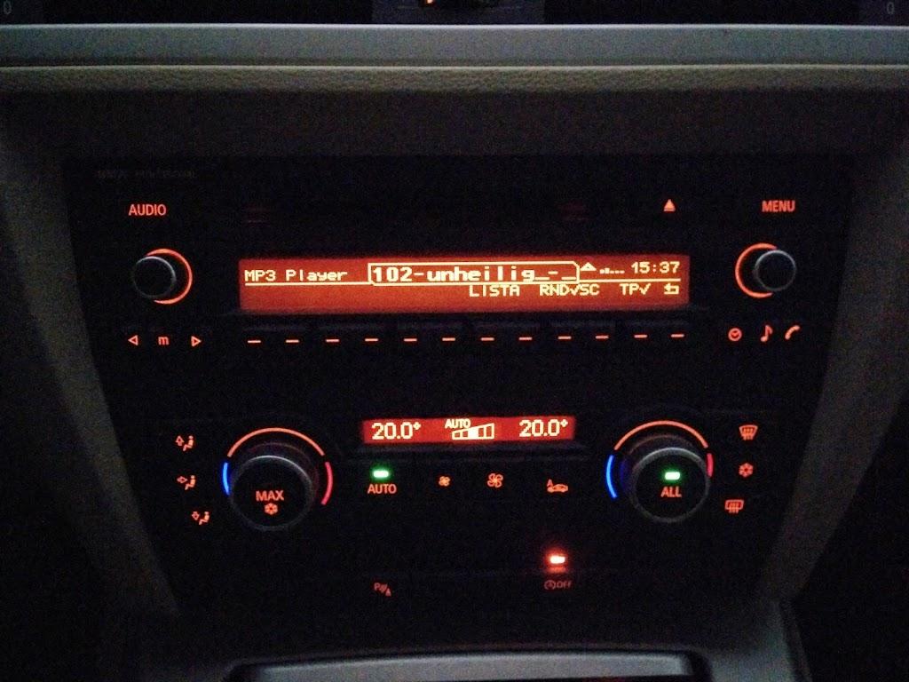 Motorpasión - Duda sobre icono en Radio CD Bluettoh BMW Professional