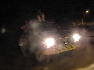 定員オーバーの4WD