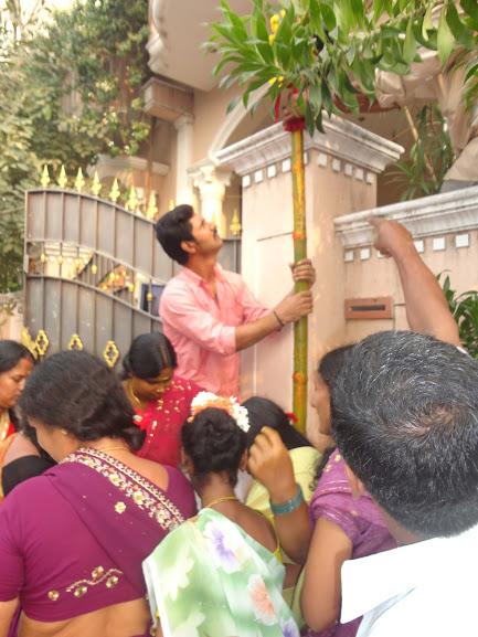 Pandhalkal Ceremony