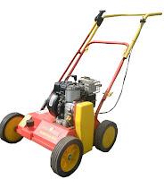 35. Aeratorius. Kad veja būtų sveika ir tanki, žolės šaknys turi būti pakankamai aprūpintos oru, maistingosiomis medžiagomis ir vandeniu. Benzininis. Pilamas 1,5 l benzino.