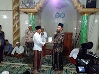 Bupati dan Wakil Bupati Rembang melaksanakan tarawih keliling di masjid darussalam desa lodan kulon kecamatan Sarang
