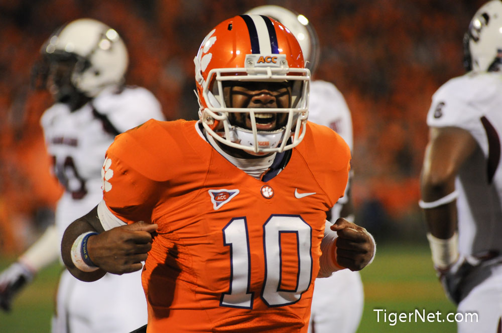 Clemson vs. South Carolina Photos - 2012, Football, South Carolina, Tajh Boyd