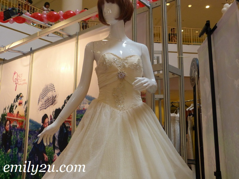 bridal fair Ipoh Parade