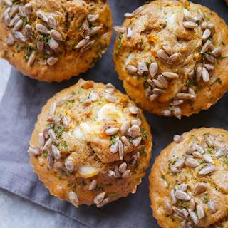 Buckwheat, Carrot and Feta Savoury Muffins