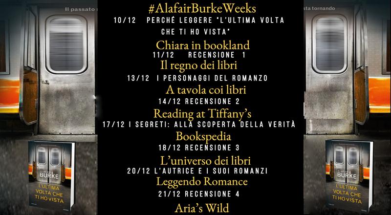 Alafair Burke Week calendario