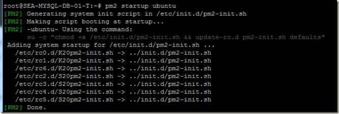 Pranab's scrapbook: Using PM2 process manager for node js