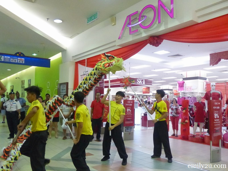 AEON Jusco Kinta City Chinese New Year Entertainment